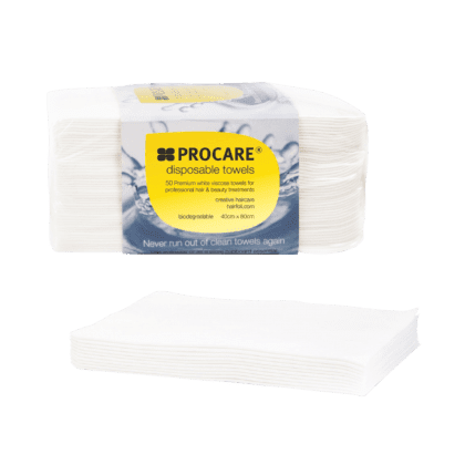 Procare White Towels